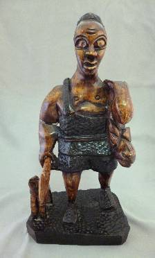 Great African Hunter Statue