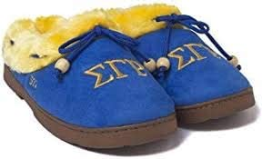 Sigma Gamma Rho Sorority Cozy Slipper Large 7-8