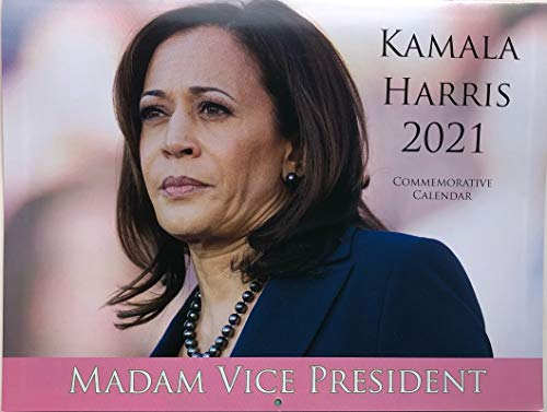 Kamala Harris 2021-13 Month Commemorative Calendar