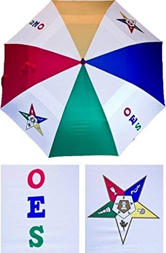 Order of Eastern Star 30'' Wind Resistant Auto Open Umbrella
