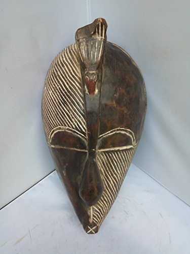 Unique Antique SONGYE Mask From Congo 15x9 in