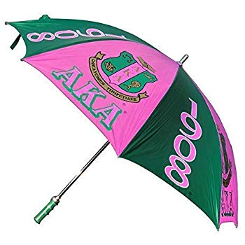 "Alpha Kappa Alpha Sorority 30"" Jumbo Umbrella"