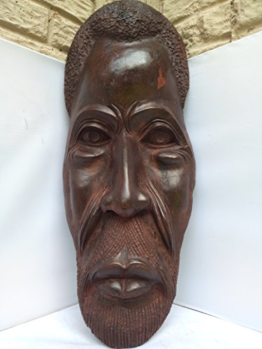 Antique Makonde Mask From Tanzania, East Africa 25x10 in