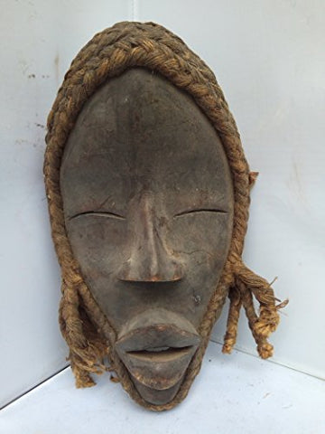 Antique And Unique Dan Mask from Ivory Coast 10x6 in