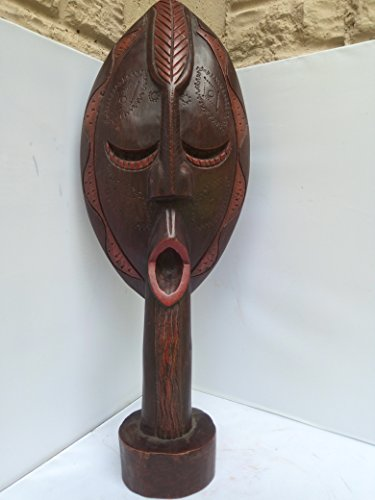Bakota double sided Standing Mask from Gabon West Africa 23x8 in