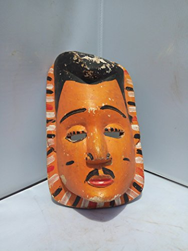 Unique Ekpo Mask From Nigeria 9x5 in