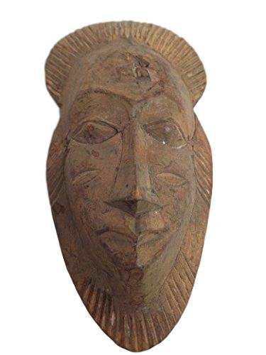 Antique Bawule, Baule, Baoule Mask From Ivory Coast