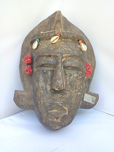 Bambara Mask from Mali West Africa 13x9 in