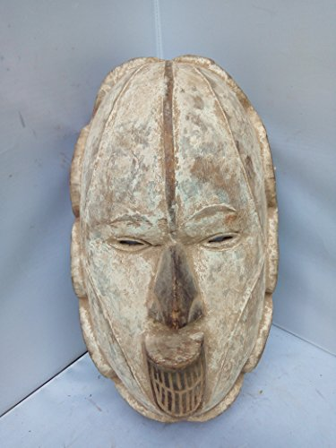 Antique Igbo Mask From Nigeria 16x9 in