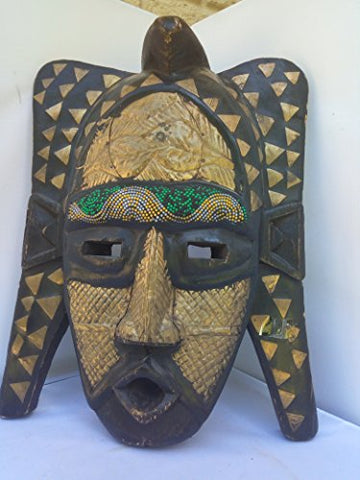 Antique Bambara Mask Ghana Version from West Africa 16x12 in