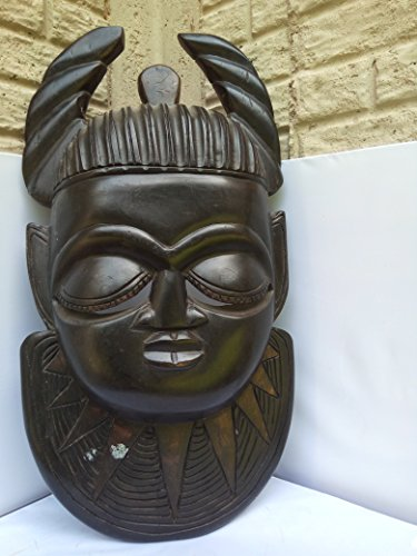 Large Royal Antique Mask From Benin