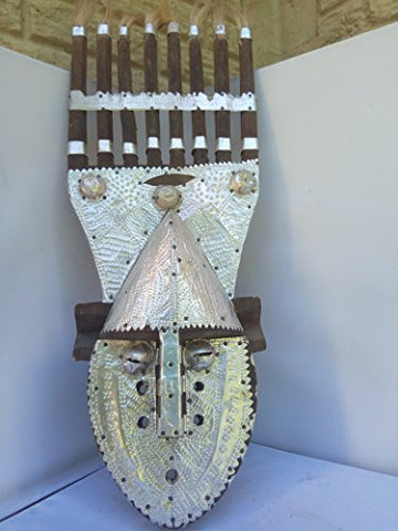 Antique Bambara Mask from Mali West Africa 23x9
