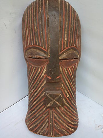 Antique Songye Mask From 19x9 in