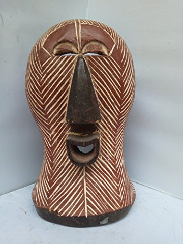Antique Songye Mask From Congo 14x8 in