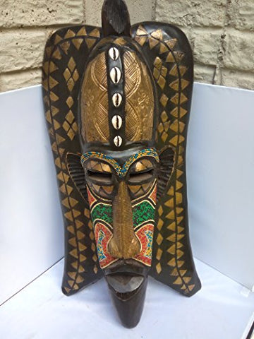 Antique AND Unique Bambara Mask from Mali West Africa 27x14 in