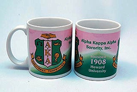 Alpha Kappa Alpha Fraternity Coffee Mug