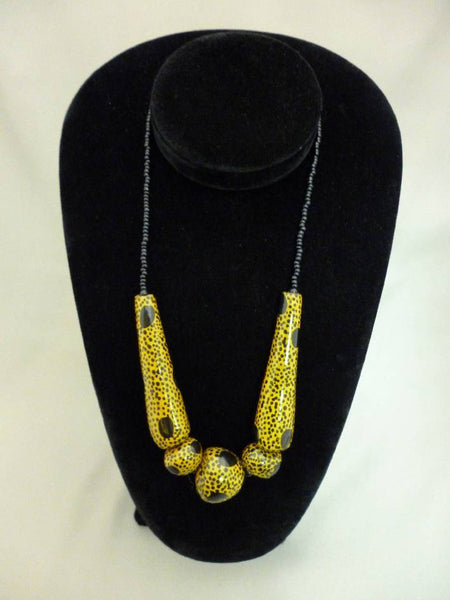 African Cheetah Necklace