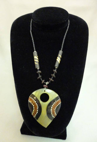 Kenya Hand-painted Necklace