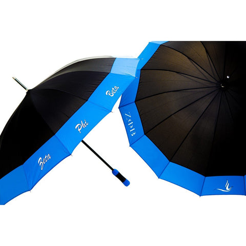 Zeta Phi Beta Sorority Classy 14 Panel Umbrella