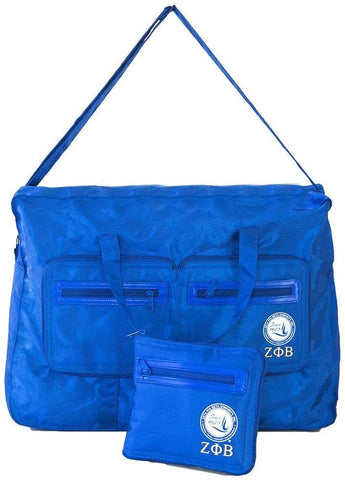 Zeta Phi Beta Sorority Nylon Go Bag