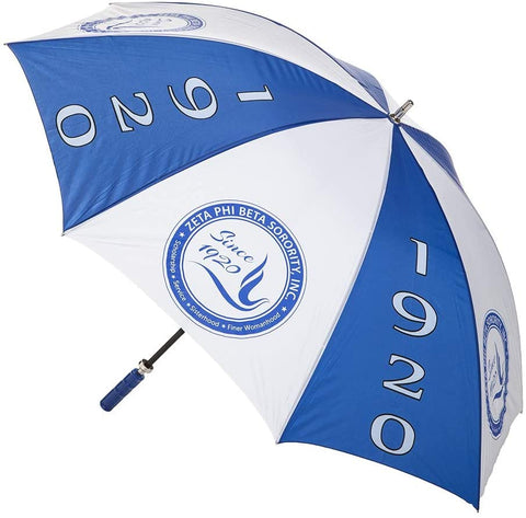 "Zeta Phi Beta Sorority Sorority 30"" Jumbo Umbrella"