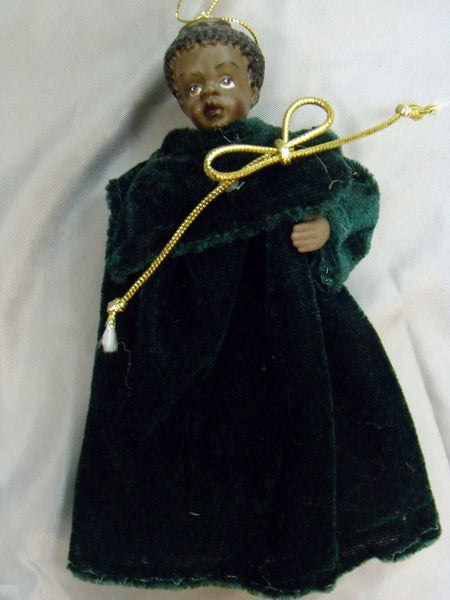 Black Angel Ornament
