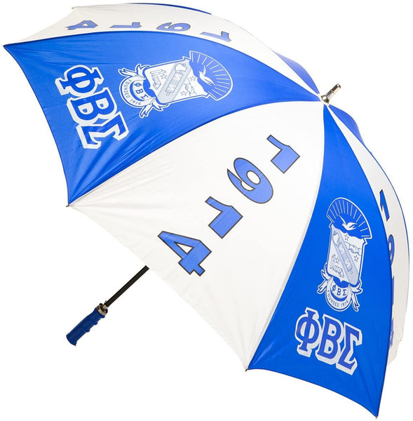 "Phi Beta Sigma Fraternity Sorority 30"" Jumbo Umbrella"