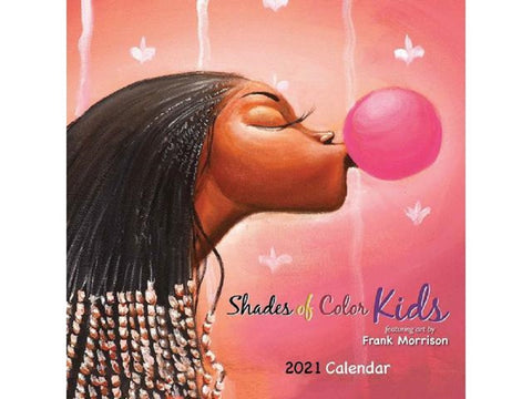 Shade of Color Kids By Frank Morrison 2021 Calendar