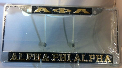 Alpha Phi Alpha License Plate Frame