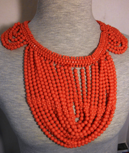 Traditional Nigerian Royal Coral Beads