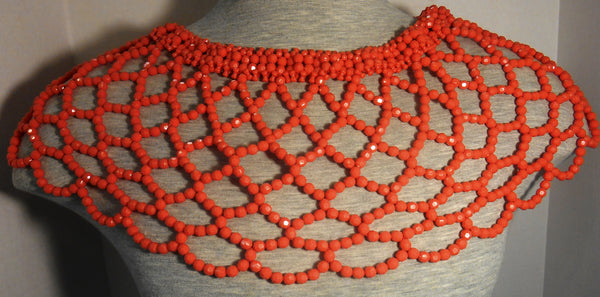 African Coral Beads Necklace