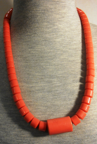 African Traditional Coral Necklace
