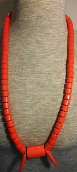 African Royal Coral Beads Necklace