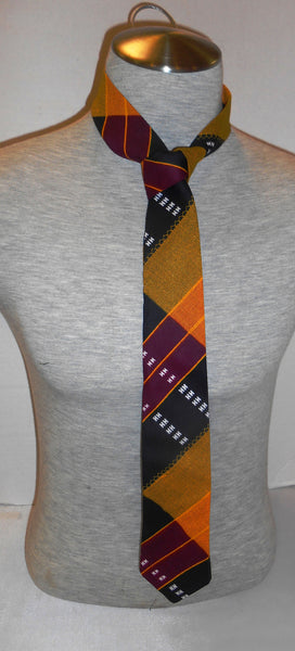 African Kente cloth pattern Men Necktie: Style 3