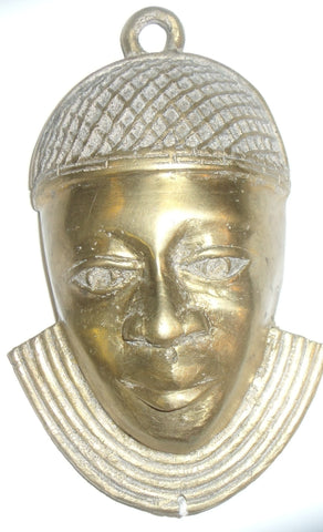 BRONZE NIGERIA MASK