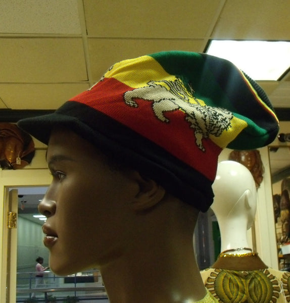 Lion of Judah Jamaica Style Rasta Hat