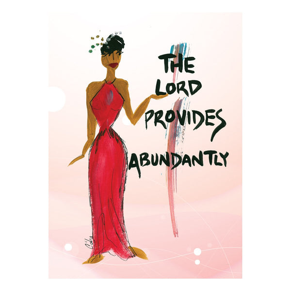 """The Lord Provides Abundantly"" Cidne Wallace Magnet"