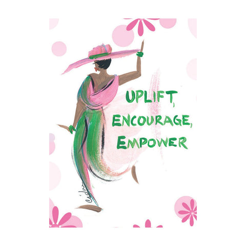 """Uplift, Encourage, Empower"" Cidne Wallace Magnet"
