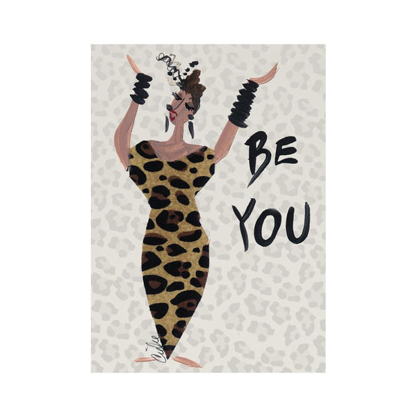 """Be You"" Cidne Wallace Magnet"
