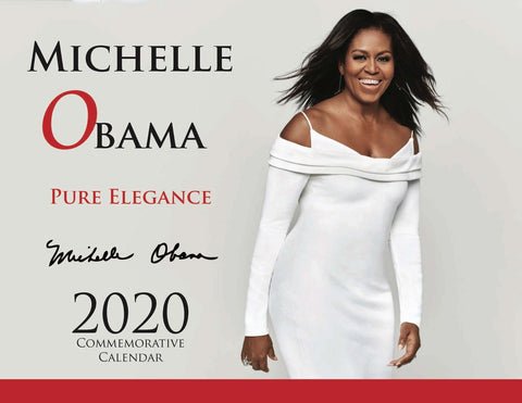 Michelle Obama PURE ELEGANT COMMEMORATIVE CALENDAR 2020
