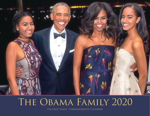 THE OBAMA FAMILY 2020 COMMEMORATIVE CALENDAR