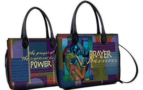 Prayer Warriors Bible Bag