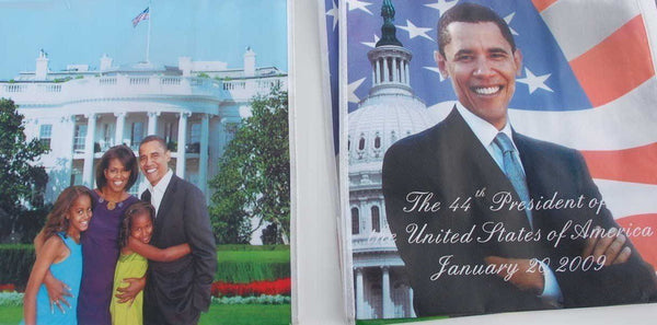 President Obama & Family Four sided Bag