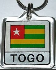 African & Carribbean Flag Keychains (Select Country)