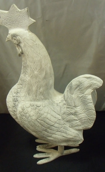 AFRICAN METAL ROOSTER