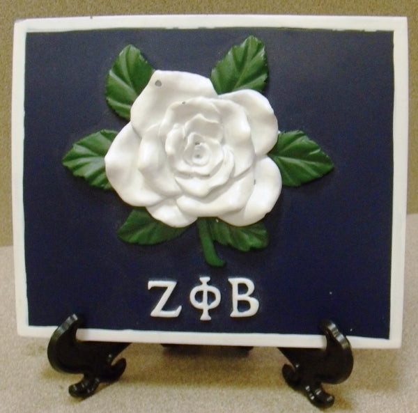 Zeta Phi Beta Plaque