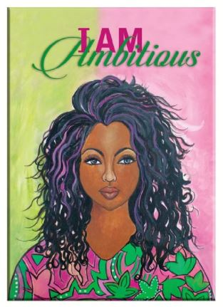 """I Am Ambitious"" Magnet by Gbaby"