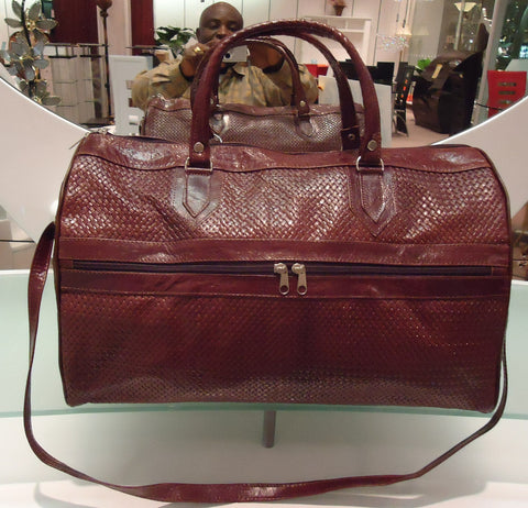 Brown Algerian handbag