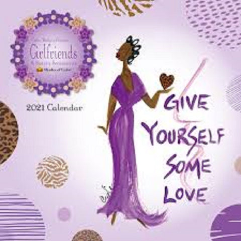 Girlfriends, A Sister's Sentiments By Cidne Wallace, 2021 Calendar