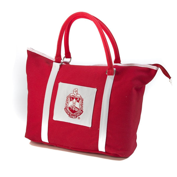 Delta Sigma Theta Sorority Canvas Tote Bag